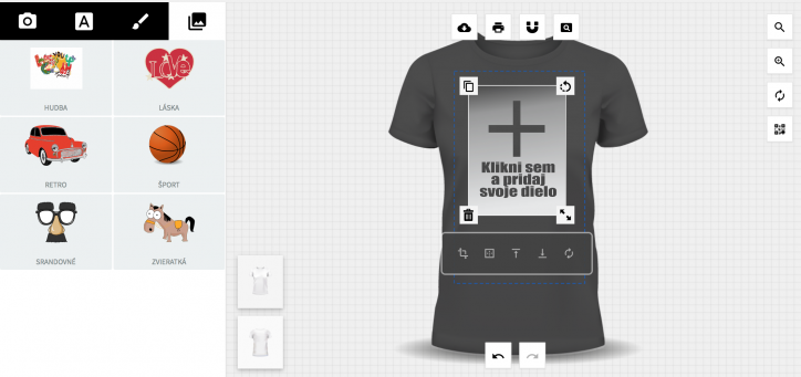 0bee2f24e438 Vytvor si vlastne tričko