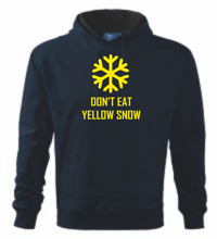 Mikina Yellow snow
