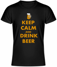 Tričko Keep calm and drink beer