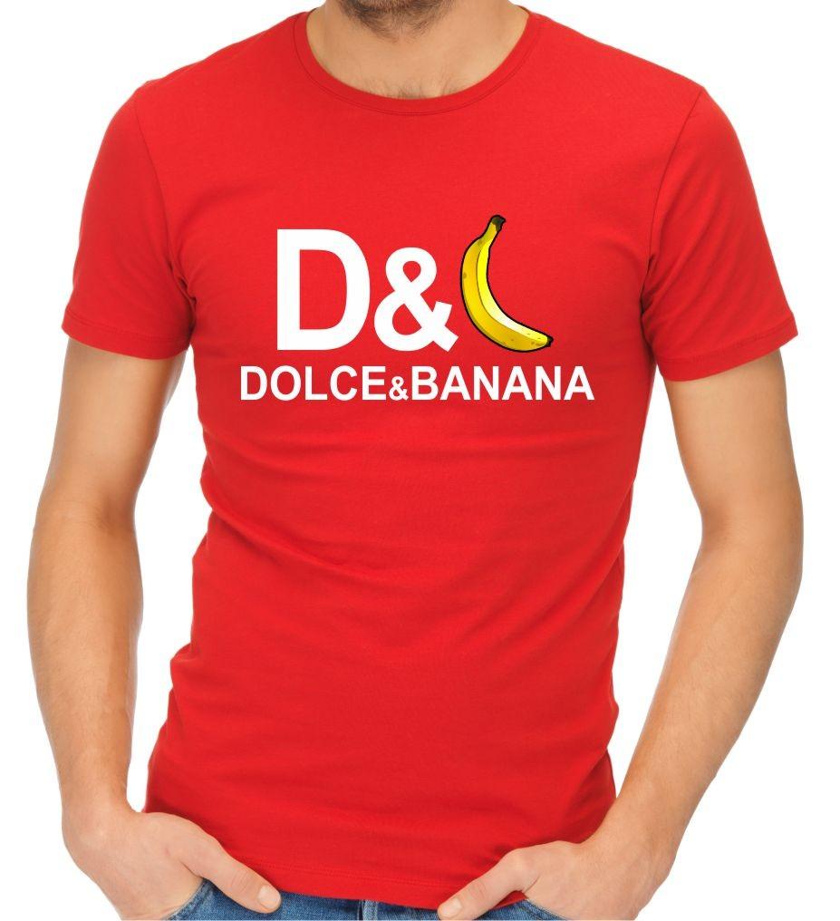 44e94ec80a Vtipné tričko s potlačou - Dolce   Banana ǀ Fajntričko.sk