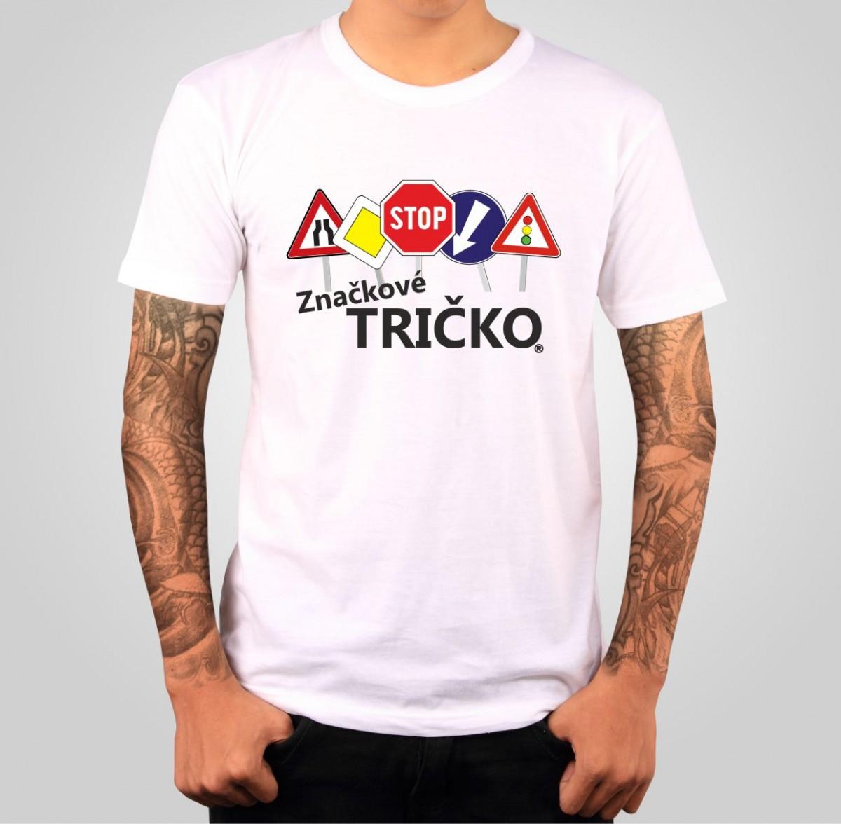 1ee41ed6d710 Tričko s potlačou - Originálne značkové tričko ǀ Fajntričko.sk