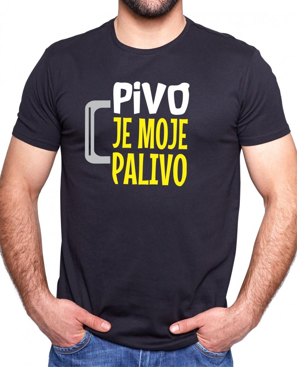 c499b02c973a Pivné tričko - Pivo je moje palivo ǀ Fajntričko.sk