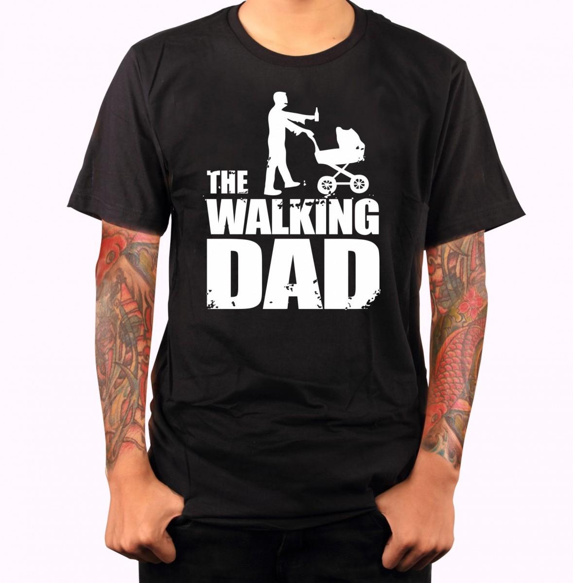 d87f8097ca17 Vtipné tričko s potlačou - The Wlaking dad ǀ Fajntričko.sk
