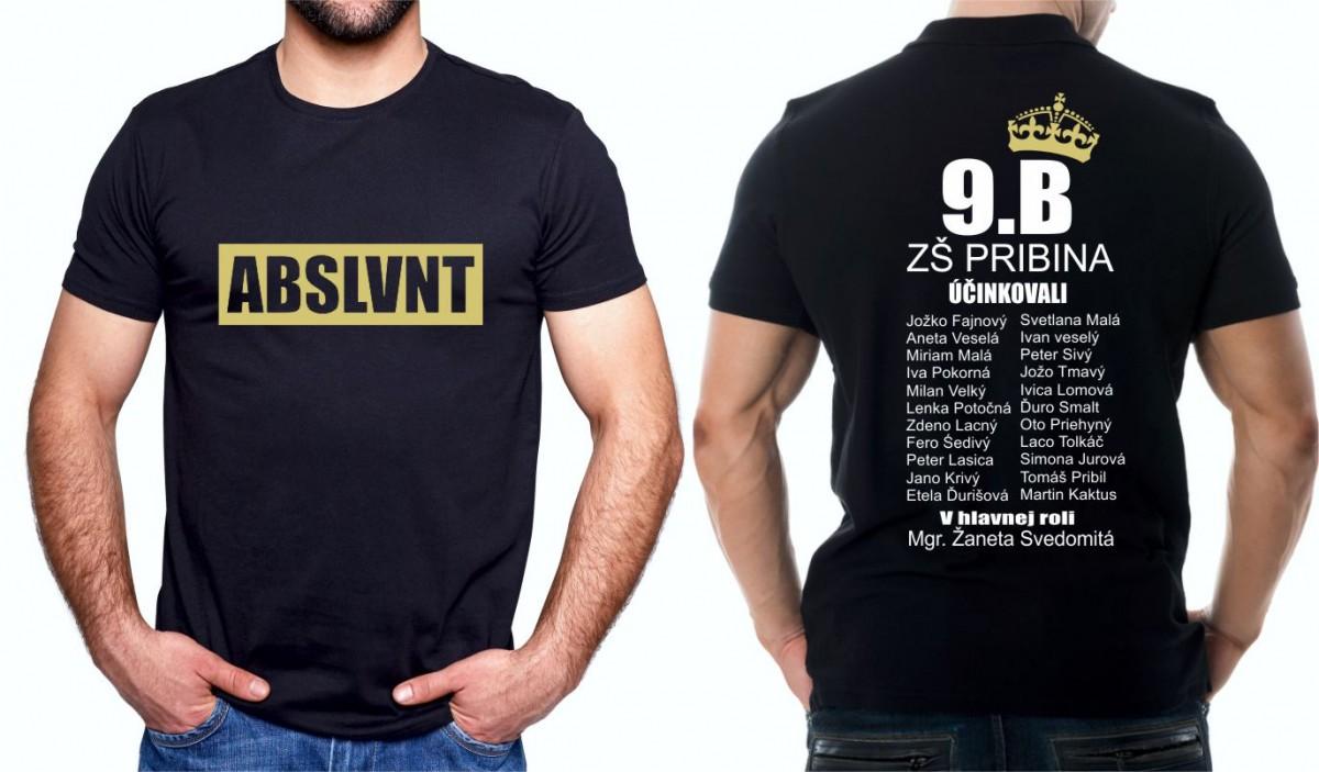 8dcdc7c9d28 Absolventské tričká - s potlačou absolvent - ABSLVNT I Fajntričko.sk