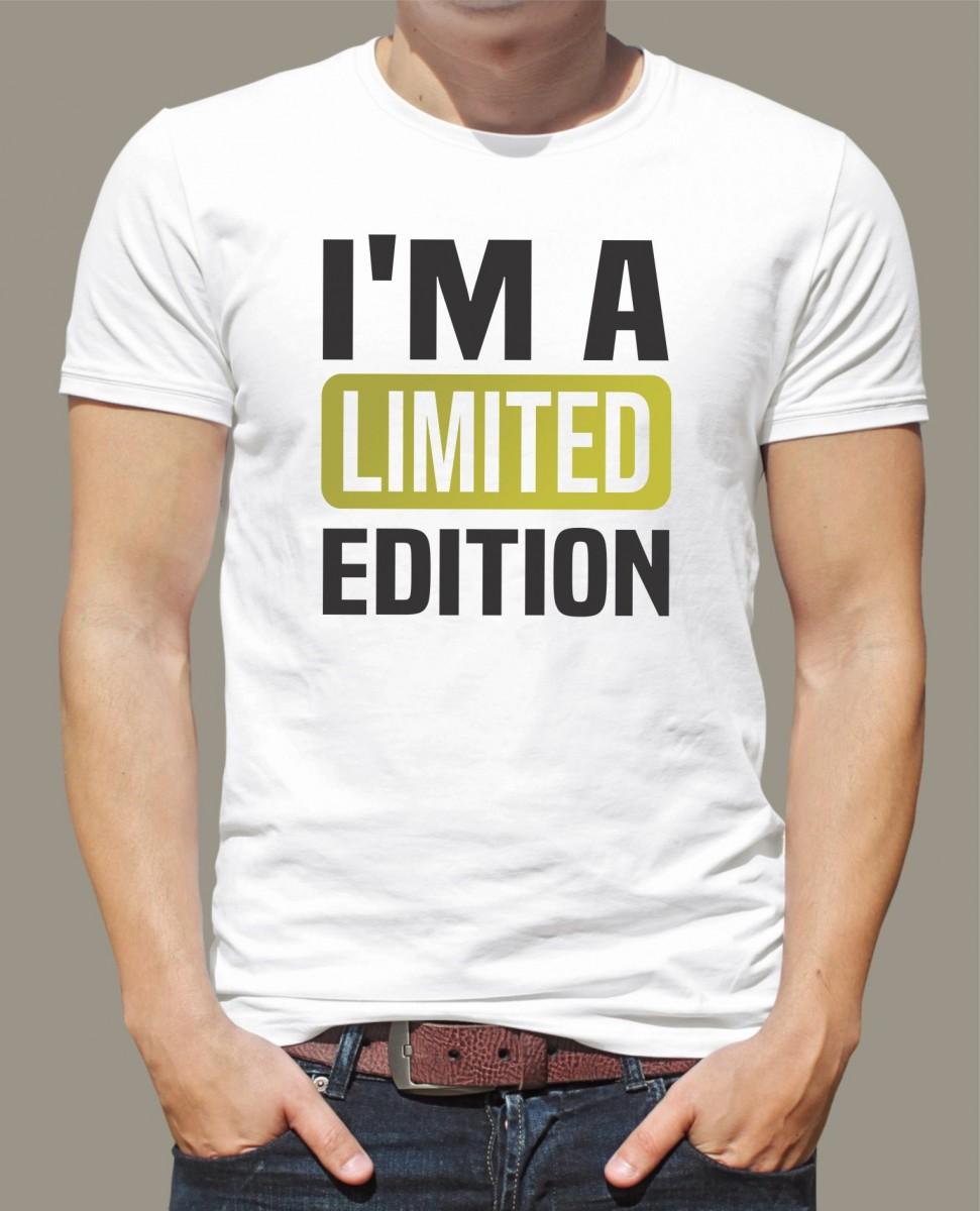 8730a573af21 Narodeninové tričko - originálny darček - I m a limited edition ǀ ...