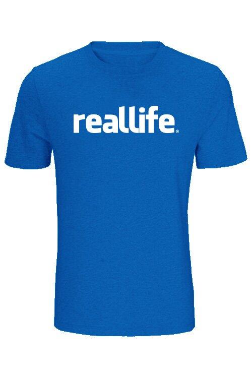 96109d2bd7 tričko real life ǀ Fajntričko.sk