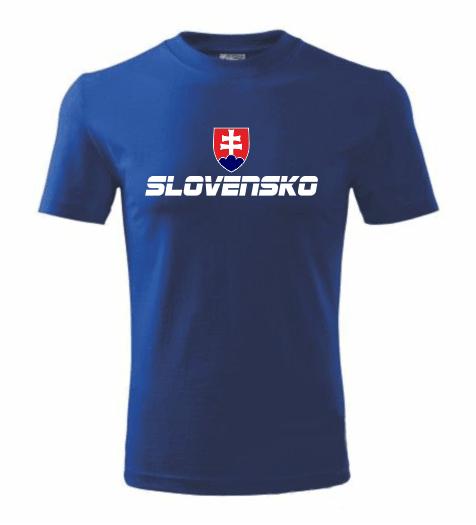 93c53735d770f Tričko Slovensko - slovenský znak ǀ Fajntričko.sk