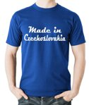 Tričko - Made in Czechoslovakia