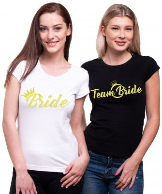 Tričká Bride/Team Bride Gold