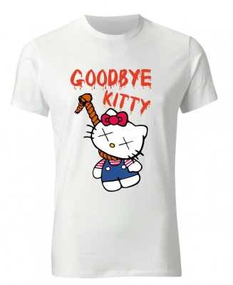 Tričko - Good bye Kitty (UNISEX)