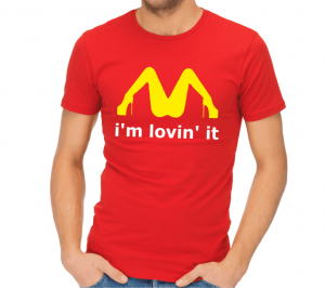 Tričko - I´m lovin´ it