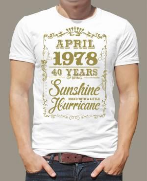 bc113385c049 Narodeninové tričko - XX years of being Sunshine