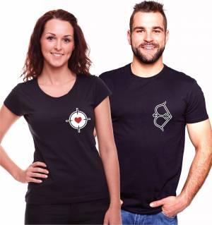 b7357c75d Partnerské tričká s potlačou, tričká pre páry - Fajntričko.sk