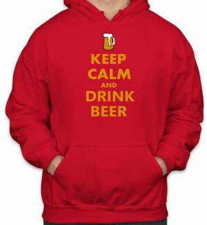 Mikina - KEEP CALM AND DRINK BEER